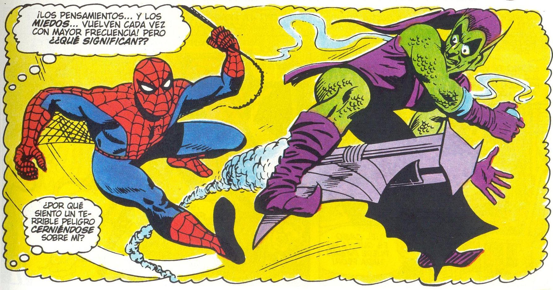 Resultat d'imatges de spiderman viñeta horizontal