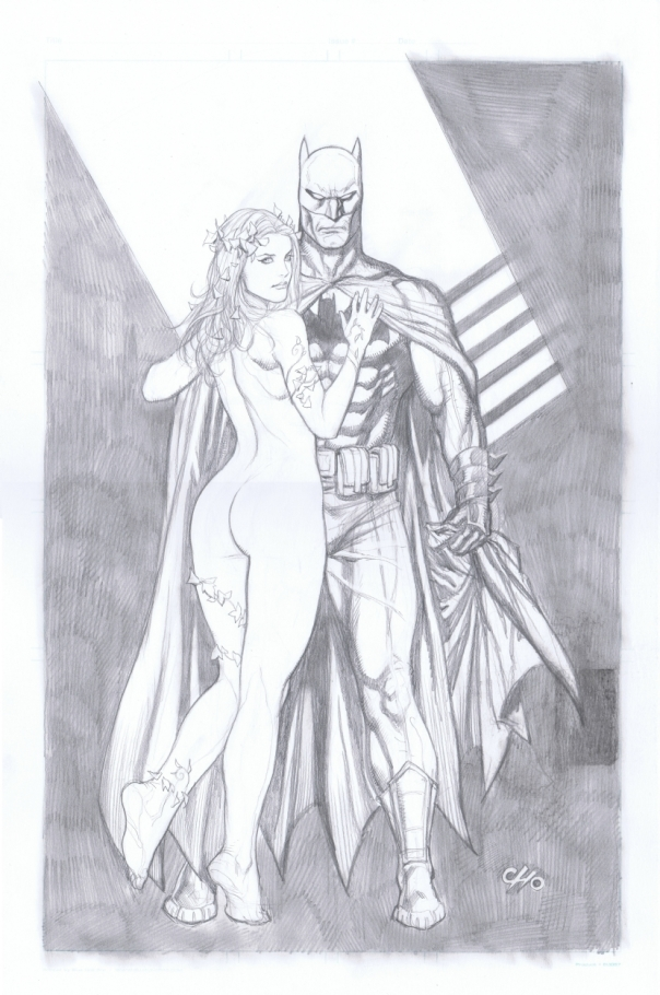 Batman & Poison Ivy