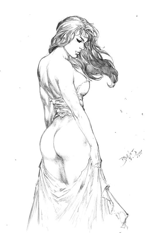 Nude Girl 00